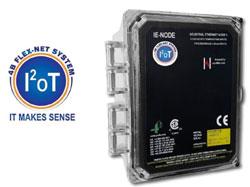 IE-NODE - Interfaccia di monitoraggio remoto tramite sensori per PLC e sistemi di automazione