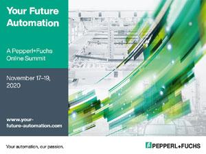 Pepperl+Fuchs prosegue con la sua serie di eventi digitali e vi invita al suo secondo summit online