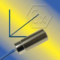 Sensori di prossimità capacitivi con uscita analogica certificati ATEX / IECEx per Zona 0 e 20