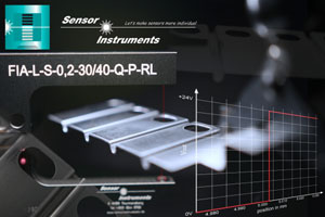 Posizionamento preciso al micrometro delle strisce di trancia